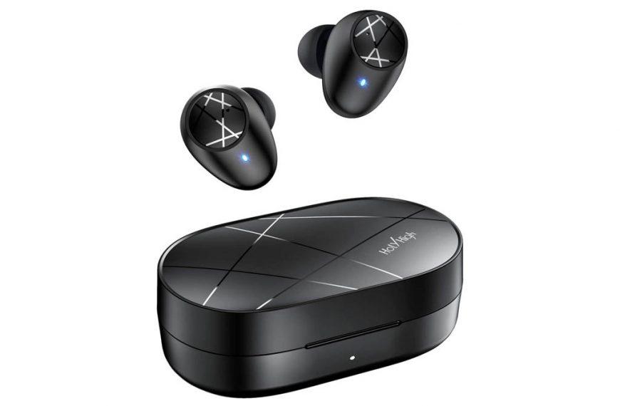 Holyhigh ET2 Auriculares bluetooth in-Ear con Caja de Carga