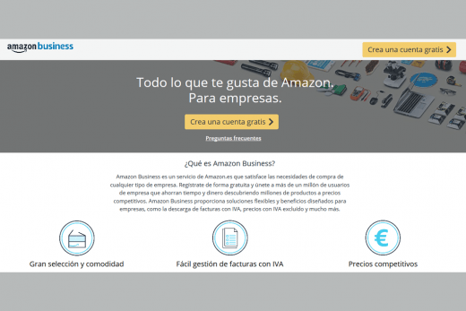 Amazon Business Para empresas y emprendedores darme de alta