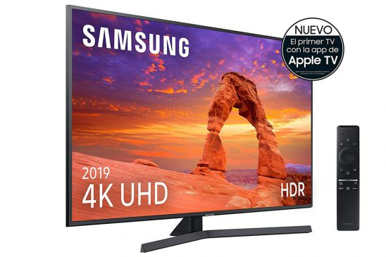 Samsung 50RU7405 2019: Televisor smart TV 4K Ultra HD