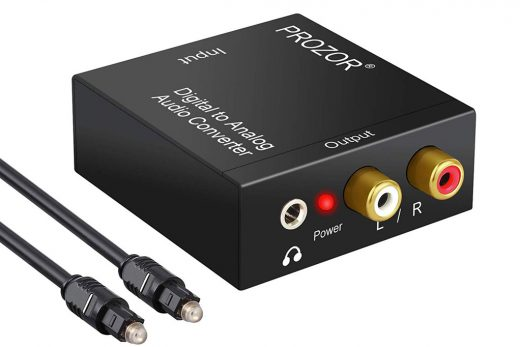 Convertidor de audio digital a analógico PROZOR DAC001 comprar en amazon informacion valoraciones opiniones precio funciones y caracteristicas