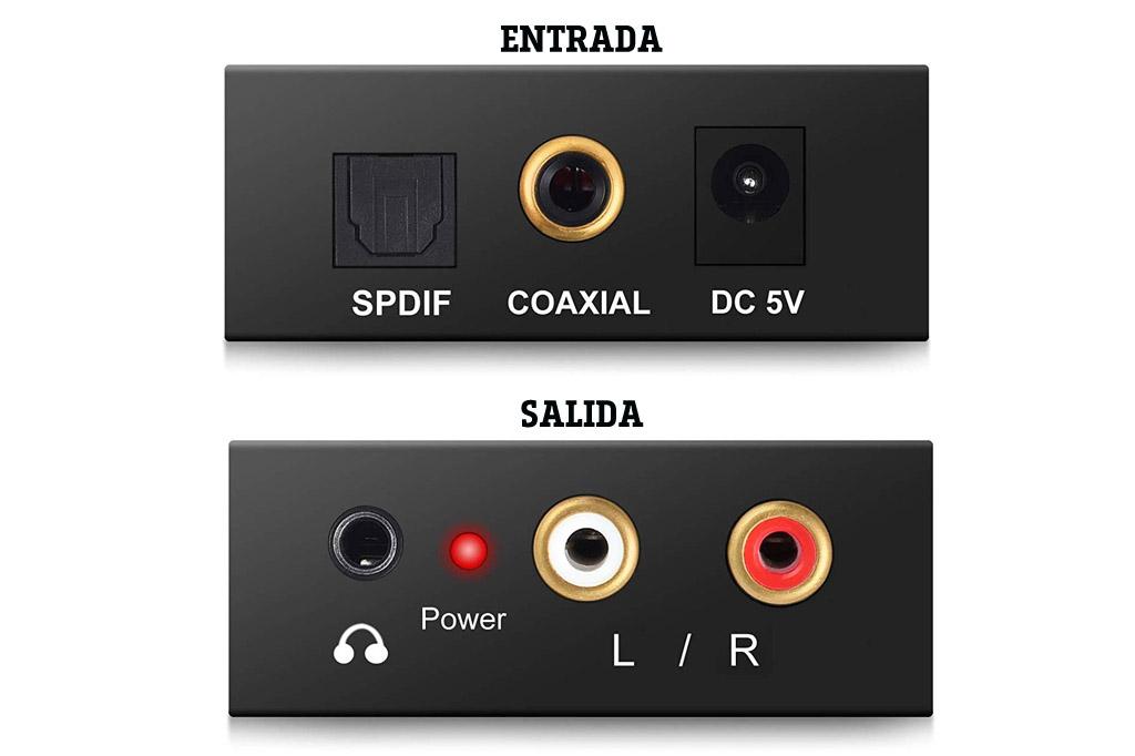 Convertidor de audio digital a analógico PROZOR DAC001 detalles opiniones informacion comprar en amazon