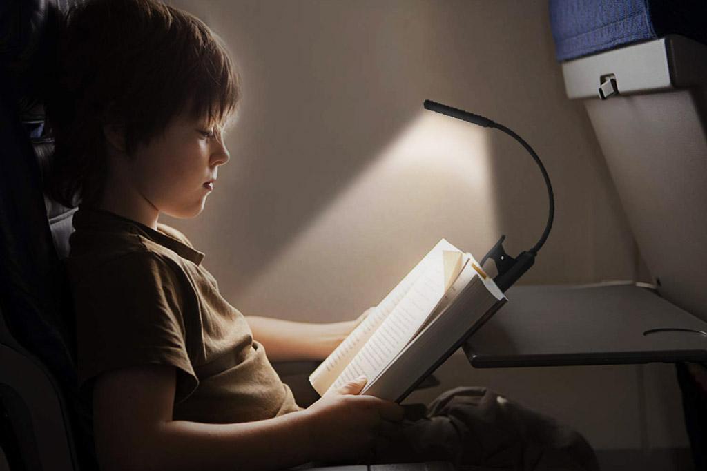 luz de lectura omeril lamapara para leer libros luz de libro