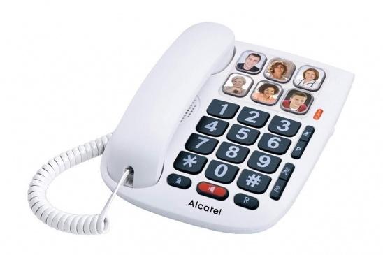 Alcatel TMax 10: Teléfono fijo para personas mayores (Botones con foto)