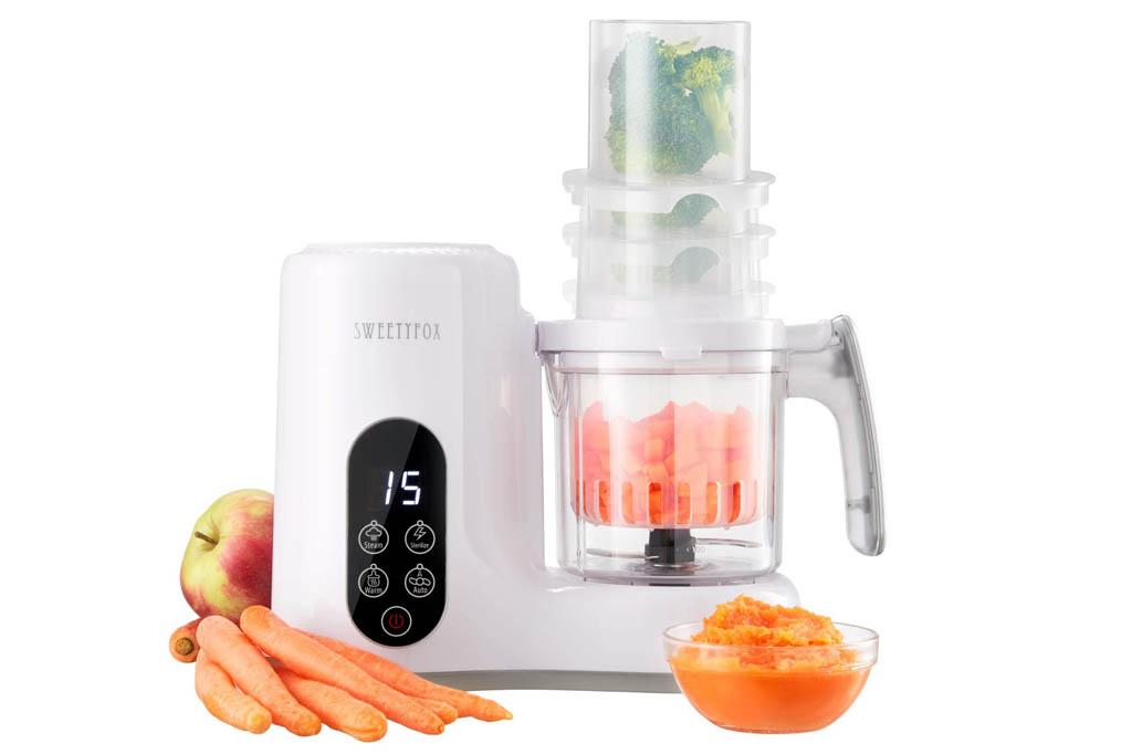 Sweety Fox Babycook 6 en 1; Robot de Cocina al vapor para Bebé