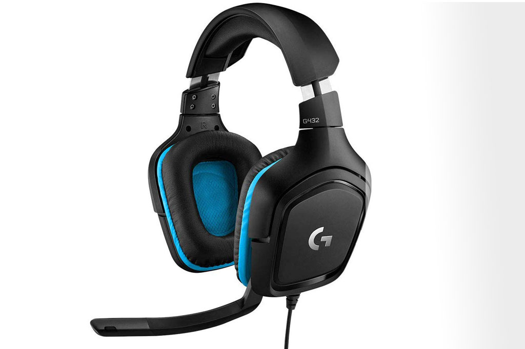 Auriculares gaming Logitech G432 7.1 Surround con cable