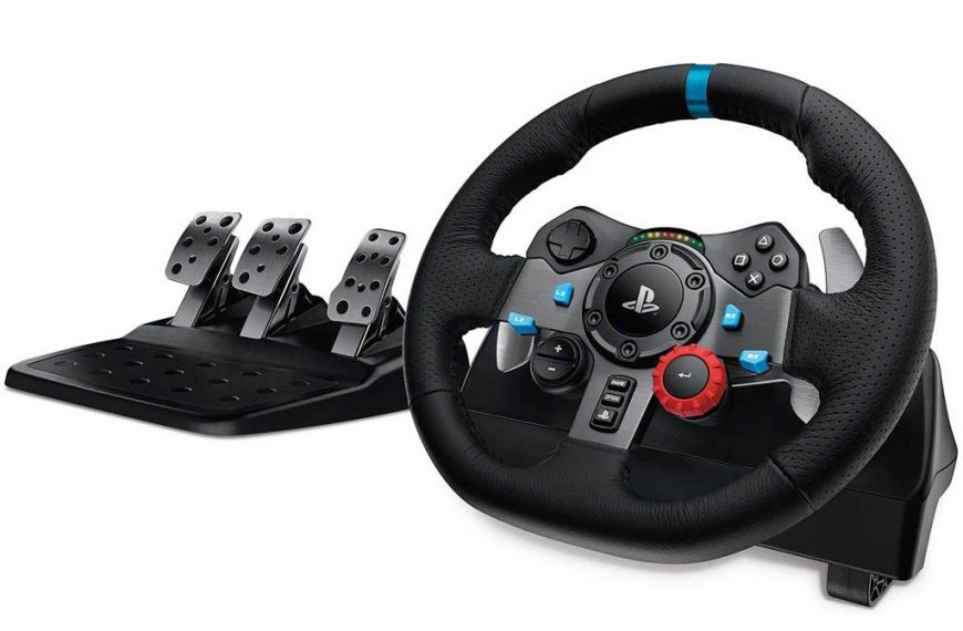 Logitech Driving Force G29 y G920: Volantes con pedales para PS4, Xbox One y PC