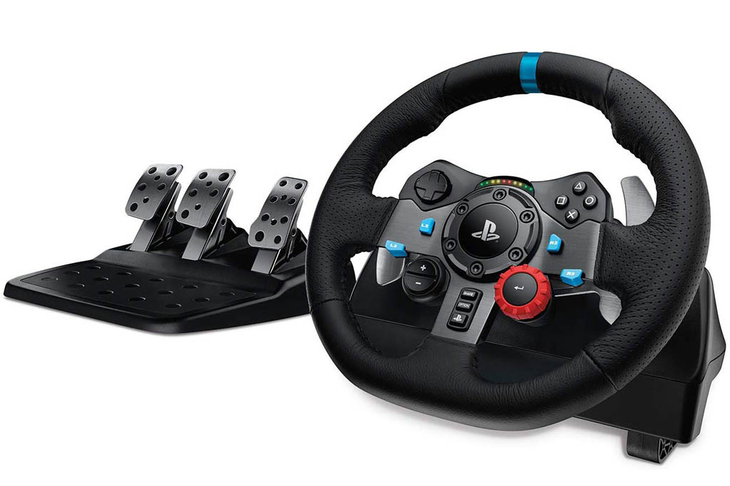 Logitech Driving Force G29 y G920: Volantes y pedales (PS4, Xbox One, PC)