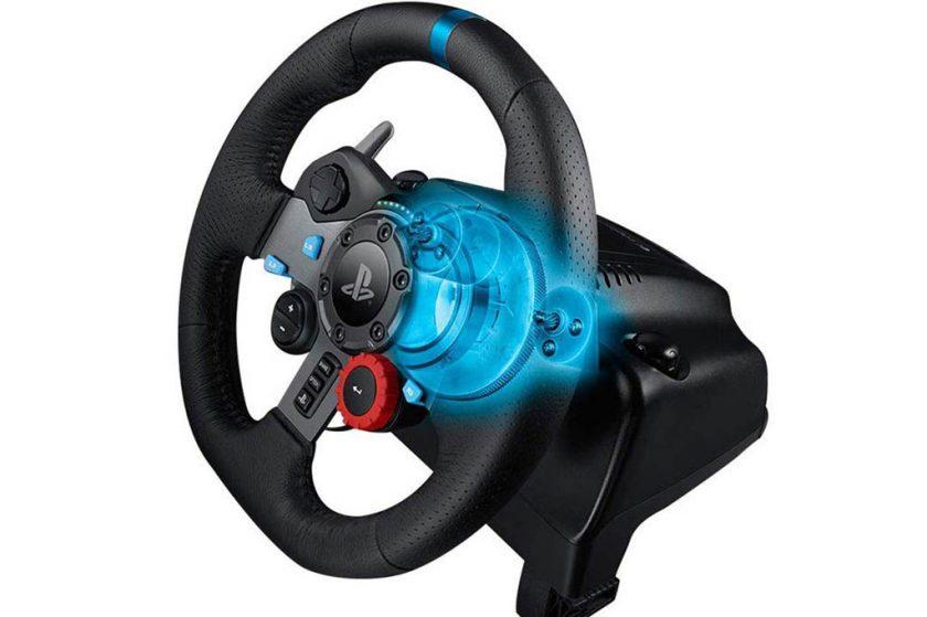 volante para juegos fuerte y robusto logitech