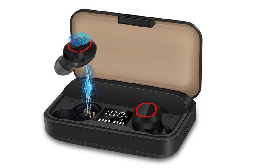 Bakibo S3 Pro: Auriculares Inalámbricos Bluetooth con caja de carga