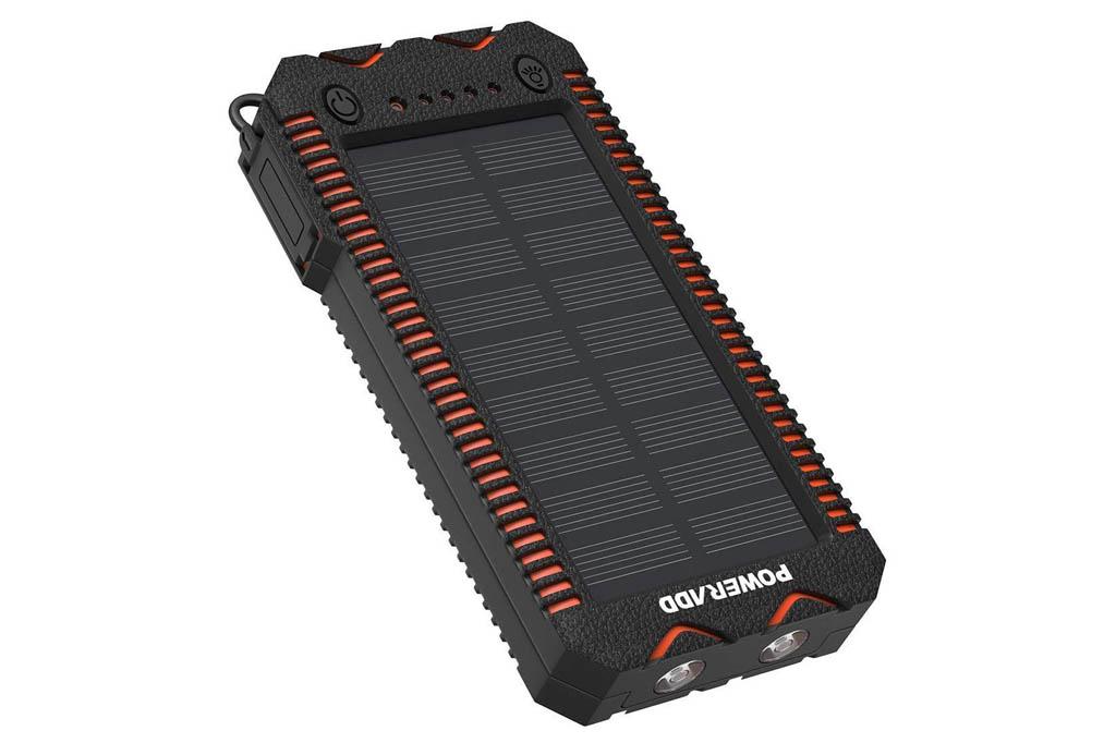 POWERADD Cargador Solar Portátil con batería (12000 o 26800mAh)