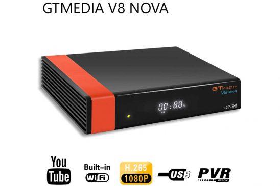 Gtmedia V8 Nova: Receptor de TV por satélite con Wifi (1080p)