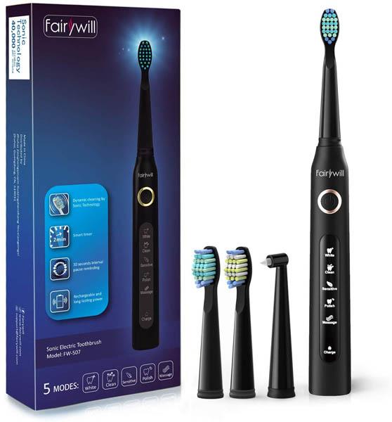 comprar nuevo cepillo de dientes fairywill envio rapido desde españa