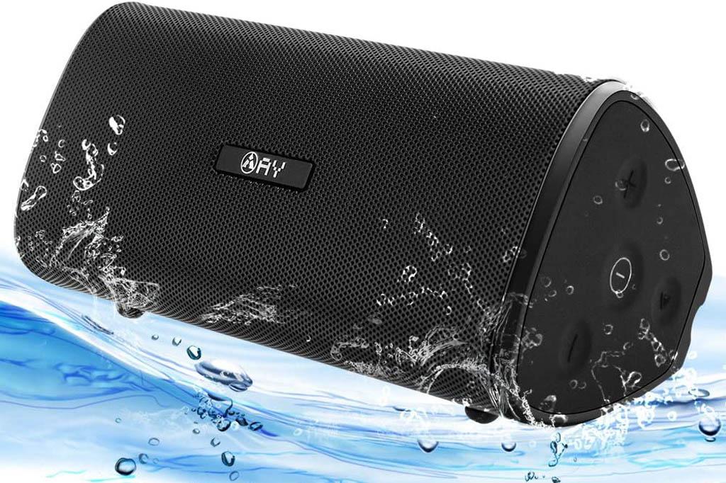 AY Altavoz Portátil Bluetooth de 30W, Impermeable, 24H de autonomía