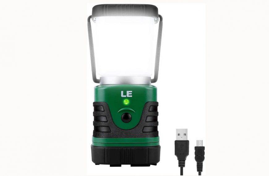 Lámpara LE de 1000 lm con batería recargable y 4 modos regulables