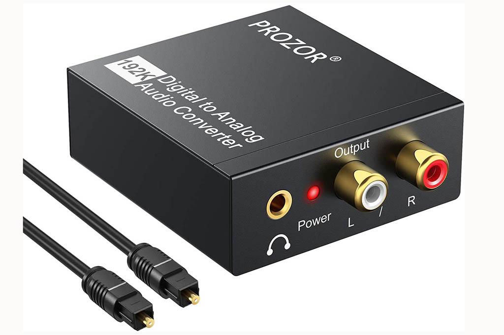 Convertidor de audio digital a analógico PROZOR DAC001 192 KHz