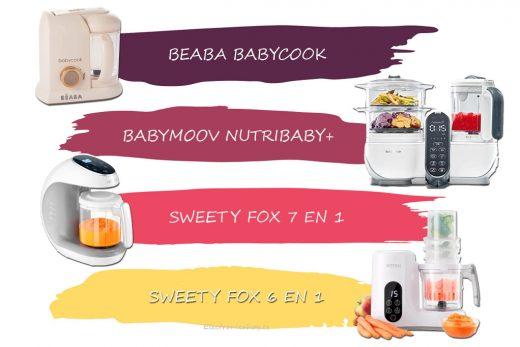 mejores robots de cocina para bebé