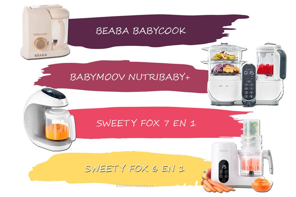 Los mejores Robots de Cocina al vapor para bebé del 2021